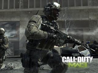 Call Of Duty Modern Warfare 3, Soldiers, Bank Machines wallpaper
