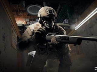 Call of Duty Modern Warfare Zombie Sniper wallpaper