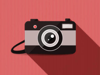 Camera Vector Minimalism wallpaper