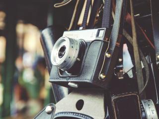 camera, vintage, lens wallpaper