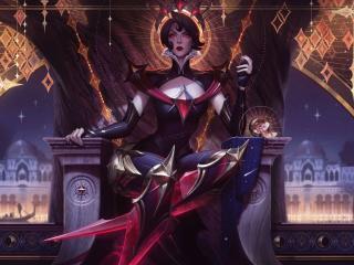 Camille Art League Of Legends wallpaper