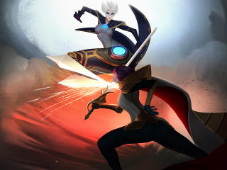 Camille vs Fiora League Of Legends wallpaper