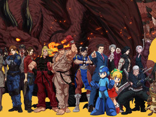 Capcom Crossover wallpaper