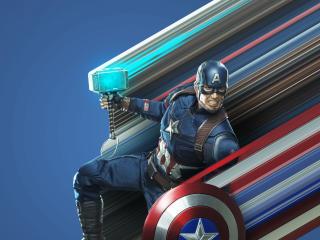 Captain America Avengers Endgame Art wallpaper