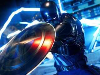 Captain America Avengers Video Game wallpaper