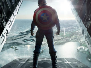 Captain America Awesome pose images wallpaper