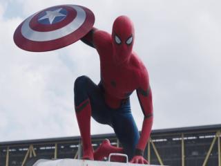 Captain America Civil War Spiderman Poster wallpaper