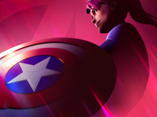 Captain America Fortnite  Avengers wallpaper