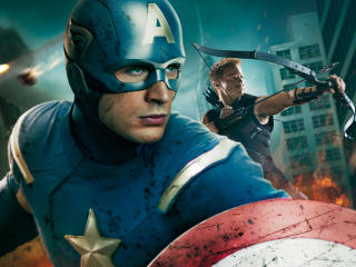 Captain America In Avengers Movie wallpapers wallpaper