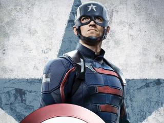 Captain America in The Falcon and The Winter Soldier wallpaper