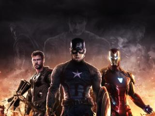 Captain America Iron Man Thor Avengers wallpaper