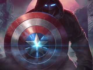 Captain America MARVEL CoC wallpaper