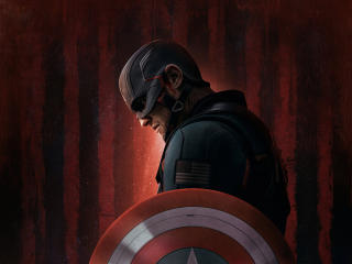 Captain America Marvel TFWS wallpaper