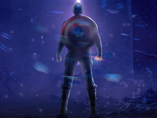 Captain America Poster wallpaper