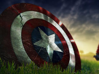 Captain America Shield Fortnite wallpaper