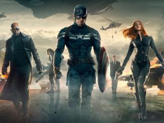 Captain America Team wallpapers wallpaper