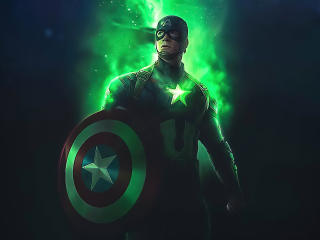Captain America Time Stone wallpaper