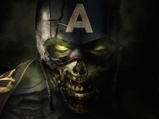Captain America Zombie What If wallpaper