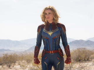 Captain Marvel 2018 Movie First Look wallpaper