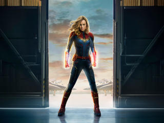 Captain Marvel 2019 Movie Official Poster wallpaper