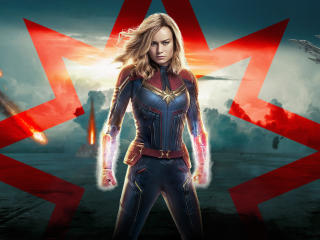 Captain Marvel 2019 Movie wallpaper