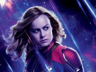 Captain Marvel Avengers Endgame wallpaper