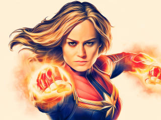 Captain Marvel Deviantart wallpaper
