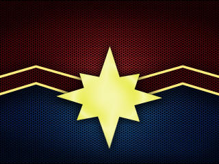 Captain Marvel Logo wallpaper