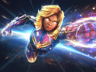 Captain Marvel MARVEL CoC 2020 wallpaper