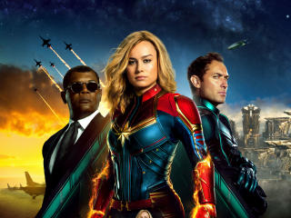 Captain Marvel Movie All Superheroes wallpaper