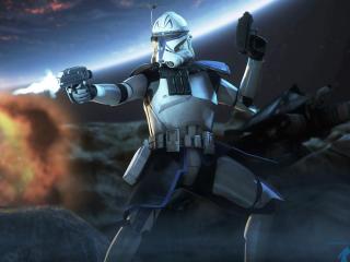 Captain Rex Star Wars Republic Commando wallpaper