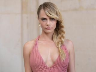 Cara Delevingne Portrait 5K wallpaper