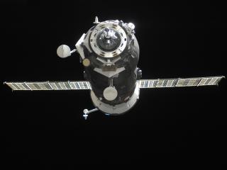 cargo spaceship, space, flight wallpaper