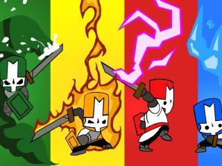 castle crashers, characters, arm wallpaper