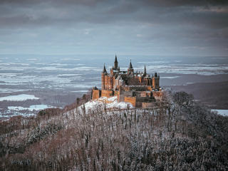 Castle Hohenzollern View wallpaper