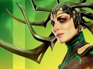 Cate Blanchett As Hela In Thor wallpaper