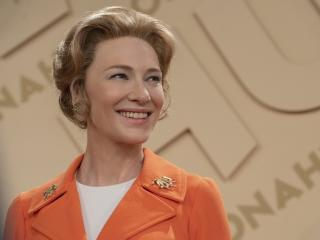 Cate Blanchett in Mrs America 2020 wallpaper