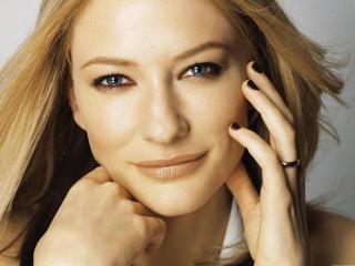 Cate Blanchett smile wallpapers wallpaper