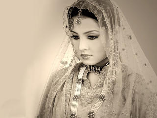 Celina Jaitly In Black And White Pics wallpaper