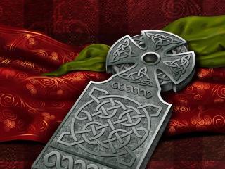 celticum, celtic cross, symbols wallpaper