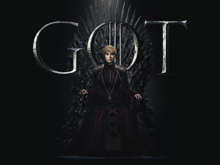 Cersei Lannister Game Of Thrones Season 8 Poster wallpaper