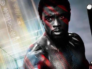 Chadwick Boseman As Black Panther 2018 Movie wallpaper