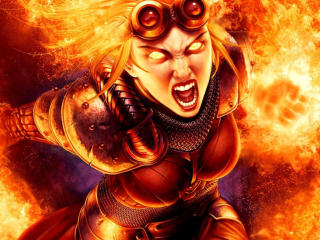 Chandra Nalaar Magic The Gathering wallpaper