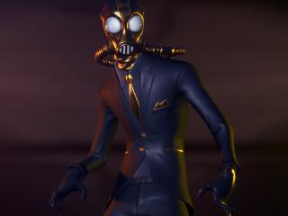Chaos Fortnite Shadow Agent Wallpaper