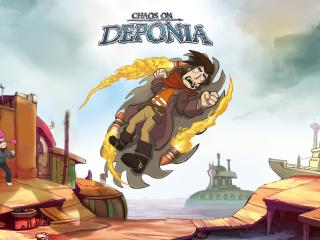 Chaos on Deponia wallpaper