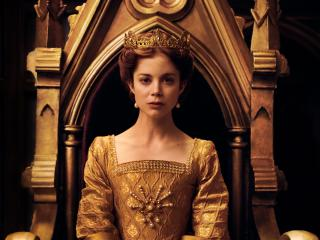 Charlotte Hope in The Spanish Princess wallpaper