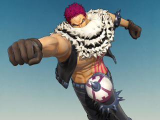 Charlotte Katakuri One Piece Game wallpaper