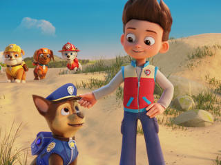 Chase and Ryder Paw Patrol The Movie wallpaper