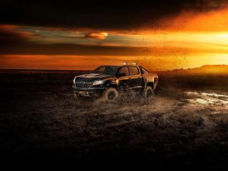 HD Wallpaper | Background Image Chevrolet Colorado ZR2 Crew Cab 2018