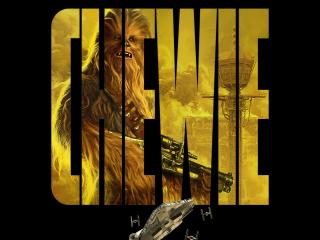Chewbacca Star Wars Art wallpaper